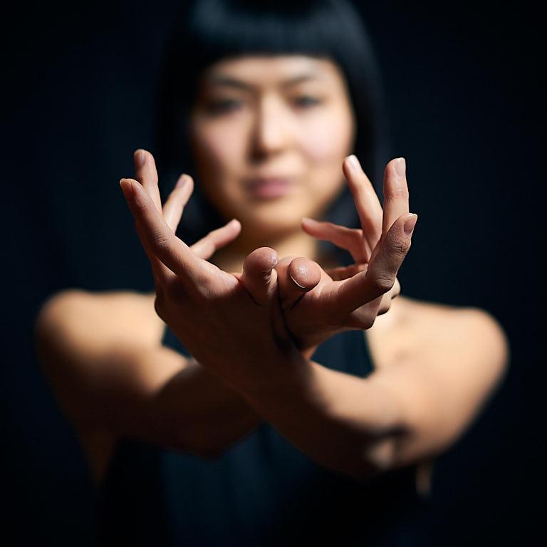 Hands of a dancer
